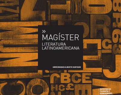 Magíster en Literatura Latinoamericana